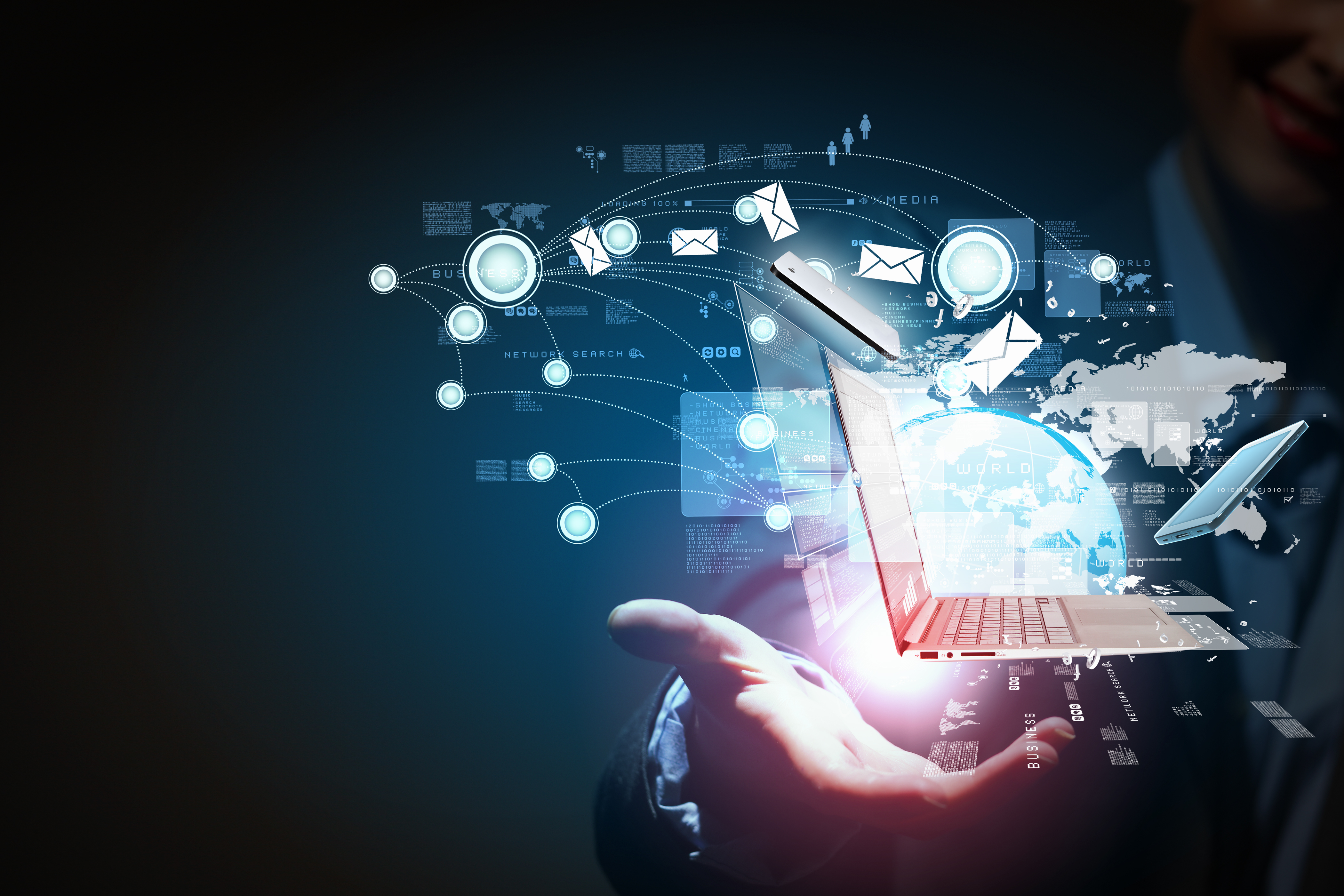 a look into internet banking and communications the three most important aspects of the modern compu